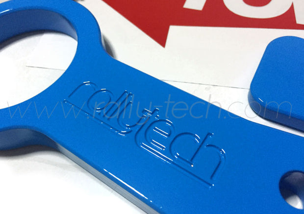 60MM FIA/MSA RACING TOW HOOK - BLUE