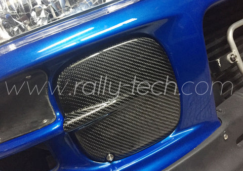 CARBON FOG LIGHT COVERS - IMPREZA VERSION 5/6