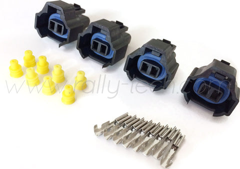 FUEL INJECTOR CONNECTOR PLUG KIT - SUBARU