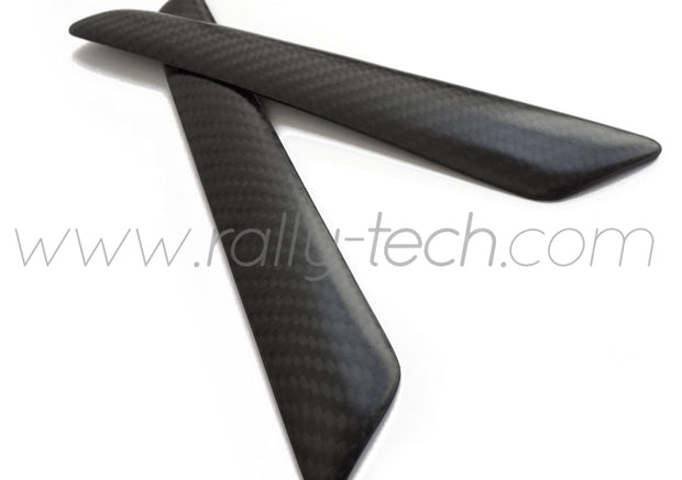 INTERIOR DOOR HANDLE COVERS - CARBON FIBRE - CIVIC EP3