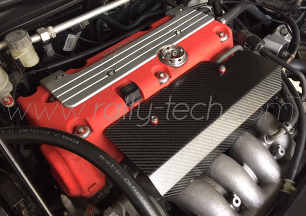 HONDA CIVIC TYPE R EP3 CARBON FIBER ENGINE COVER