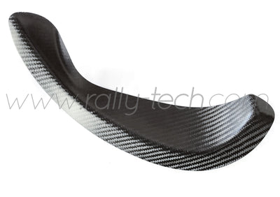 EXHAUST TRIM PLATE - CARBON FIBRE - CIVIC EP3