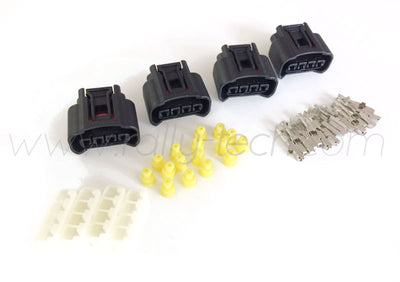 DENSO IGNITION COIL CONNECTOR PLUG KIT - MITSUBISHI EVOLUTION DENSO 'COP'