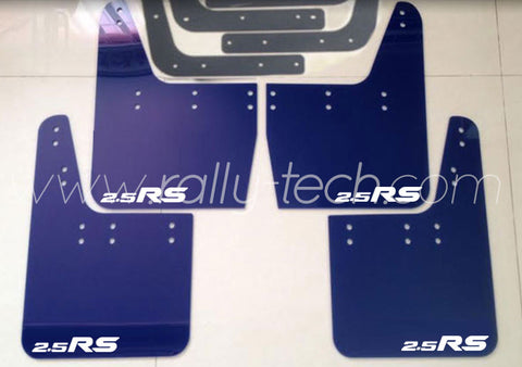 4MM POLYURETHANE MUDFLAP KIT - IMPREZA GC/GM/GF (93-01) - BLUE - 2.5RS