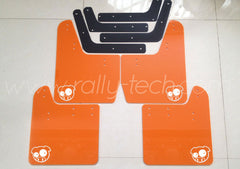 4MM POLYURETHANE MUDFLAP KIT - IMPREZA GD/GG (02-07) - ORANGE - PIG