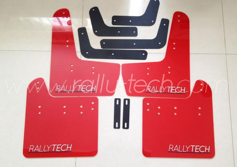 4MM POLYURETHANE MUDFLAP KIT - IMPREZA GR/GV (08-13) - RED