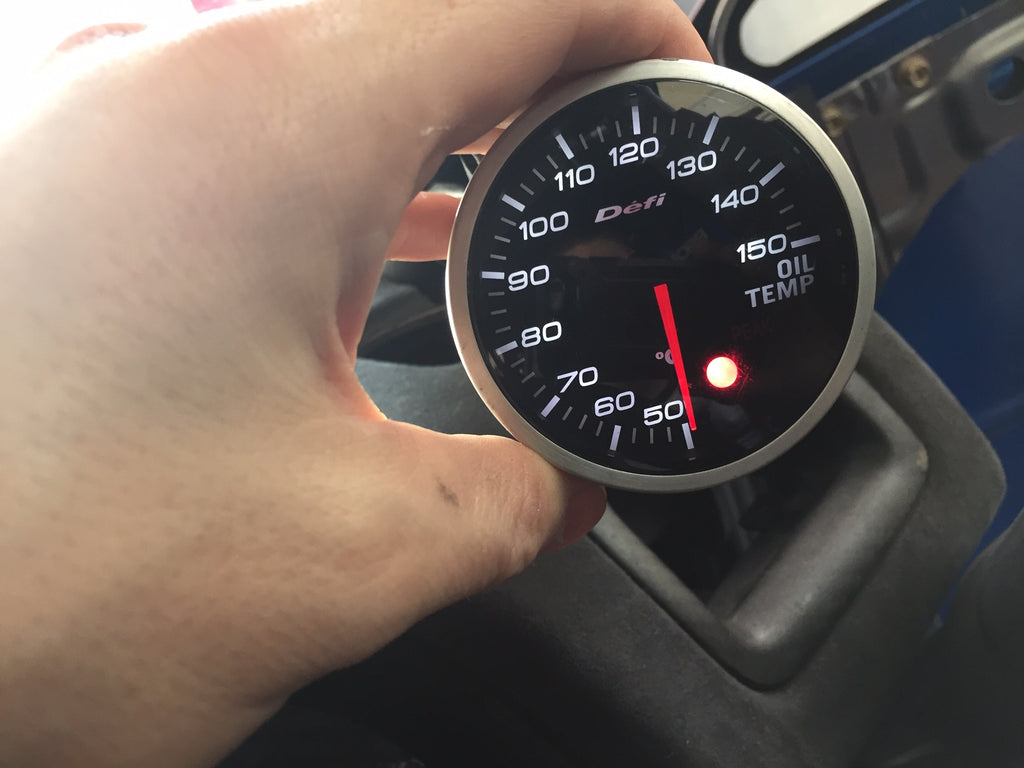DEFI OIL TEMP GAUGE #2