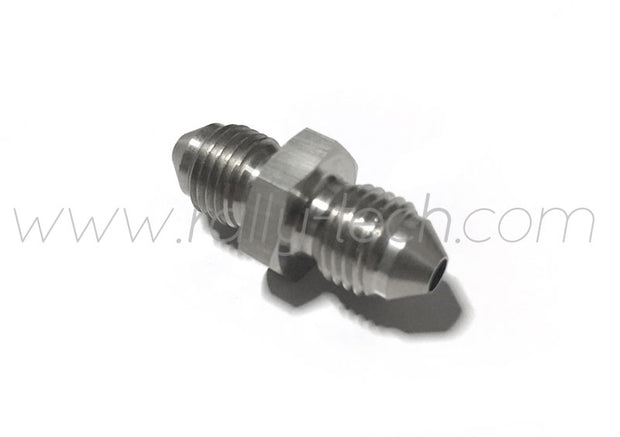 AN-3 TO AN-3 BRAKE ADAPTER FITTING - STAINLESS STEEL