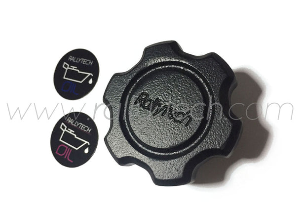 BILLET OIL CAP - SUBARU - BLACK