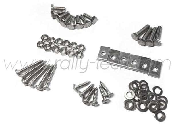4MM MUDFLAP BOLT/NUT/SCREW/WASHER/CLIP KIT  - IMPREZA GD/GG (02-07)