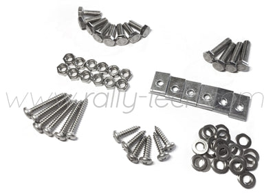 4MM MUDFLAP BOLT/NUT/SCREW/WASHER/CLIP KIT - IMPREZA GC/GM/GF (93-01)