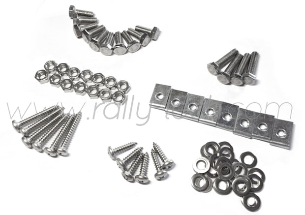4MM MUDFLAP BOLT/NUT/SCREW/WASHER/CLIP KIT - IMPREZA GR/GV (08-13)
