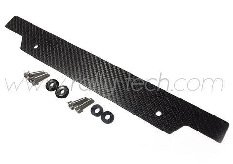 LICENSE DELETE PLATE - IMPREZA GD/GG (02-05) - CARBON FIBER