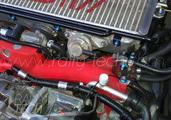 ENGINE BAY DRESS UP BOLT KIT - SUBARU EJ ENGINE - BLUE