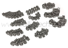 DRILLED ENGINE BAY DRESS UP BOLTS - EVO 4G63 - SILVER