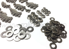 ENGINE BAY DRESS UP BOLT KIT - MACHINED HEADS - SUBARU EJ ENGINE - SILVER
