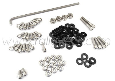 ENGINE BAY DRESS UP BOLT KIT - HONDA K20 - BLACK