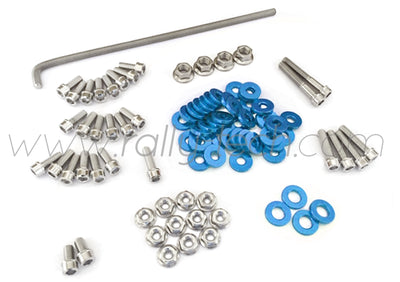 ENGINE BAY DRESS UP BOLT KIT - HONDA K20 - BLUE