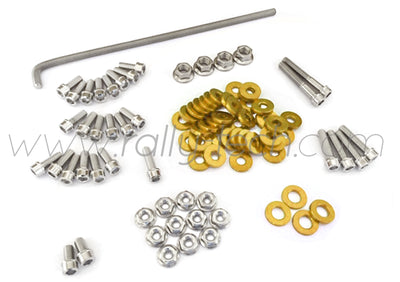 ENGINE BAY DRESS UP BOLT KIT - HONDA K20 - GOLD