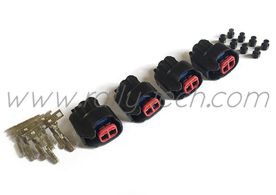 EV6 (USCAR) INJECTOR CONNECTOR PLUG KIT - UNIVERSAL