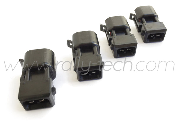 EV6 TO EV1 FUEL INJECTOR ADAPTER CONNECTOR PLUGS - UNIVERSAL