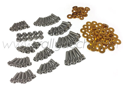 ENGINE BAY DRESS UP BOLT KIT - LANCER EVO 4, 5, 6, 7, 8, 9 - GOLD