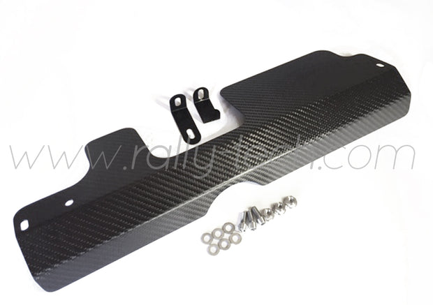 ALTERNATOR BELT COVER & USDM RADIATOR PANEL - SUBARU IMPREZA GM/GM/GF (93-01) - CARBON FIBER