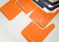 4MM POLYURETHANE MUDFLAP KIT - IMPREZA GC/GM/GF (93-01) - ORANGE