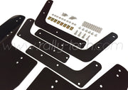 4MM POLYURETHANE MUDFLAP KIT - IMPREZA GD/GG (02-07) - BLACK - AWD RETRO W