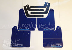 4MM POLYURETHANE MUDFLAP KIT - IMPREZA GD/GG (02-07) - BLUE