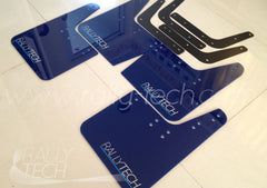 4MM POLYURETHANE MUDFLAP KIT - IMPREZA GC/GM/GF (93-01) - BLUE