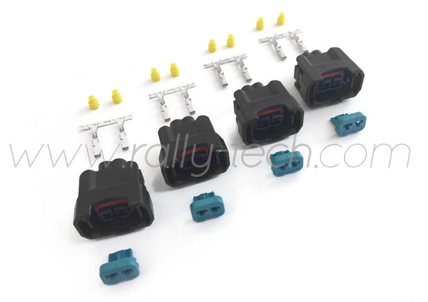 FUEL INJECTOR CONNECTOR PLUG KIT - CIVIC EP3 INTEGRA DC5 HONDA K20