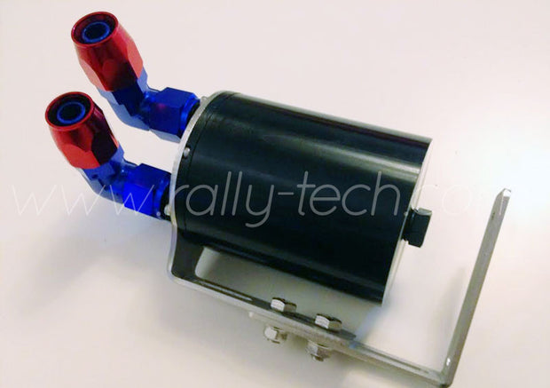 BILLET ALUMINUM OIL CATCH TANK KIT - TWIN PORT