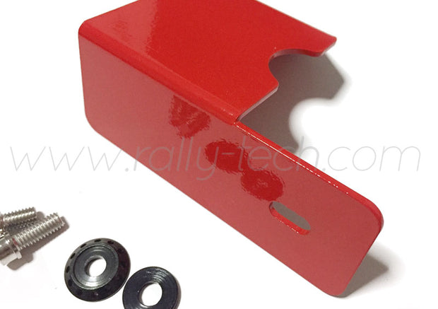 4G63 CAM POSITION ANGLE SENSOR HEAT SHIELD - LANCER EVO 4, 5, 6, 7, 8, 9 - RED