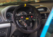 STEERING WHEEL BUTTON KIT - CUSTOM DESIGN - UNIVERSAL - CARBON FIBER