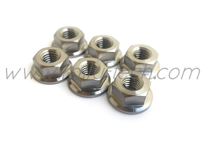 STRUT TOWER NUT SET - TITANIUM Ti Gr5 - SUBARU