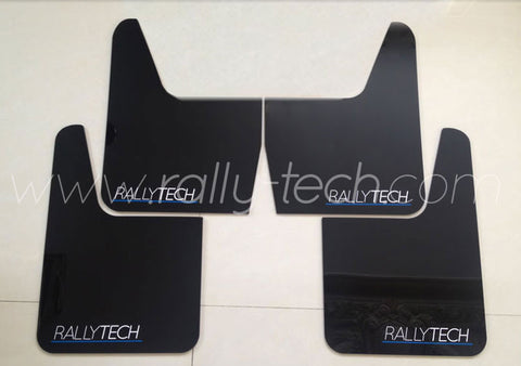 4MM POLYURETHANE MUDFLAP KIT - UNIVERSAL - BLACK
