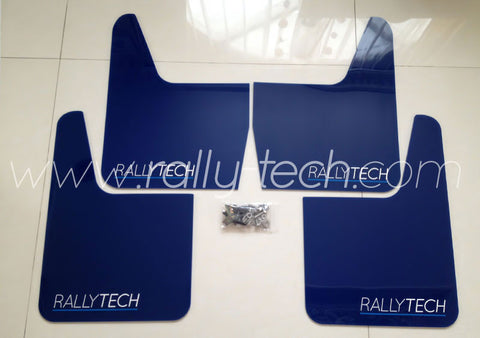 4MM POLYURETHANE MUDFLAP KIT - UNIVERSAL - BLUE