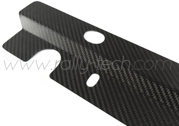ALTERNATOR BELT COVER & JDM RADIATOR PANEL - SUBARU IMPREZA GM/GM/GF (93-01) - CARBON FIBER