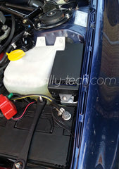FUSE BOX COVER - SUBARU - BLACK