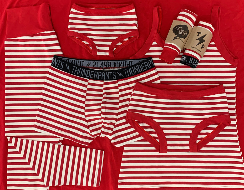 Womens Hipster Candy Cane Stripes