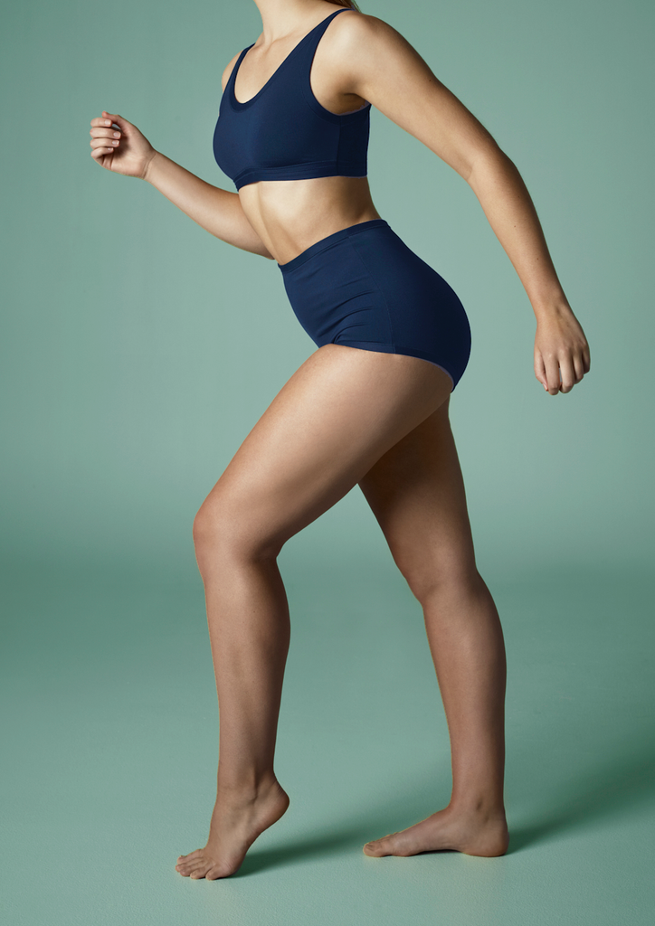 Energy Vibes Panelled Swim High Waist