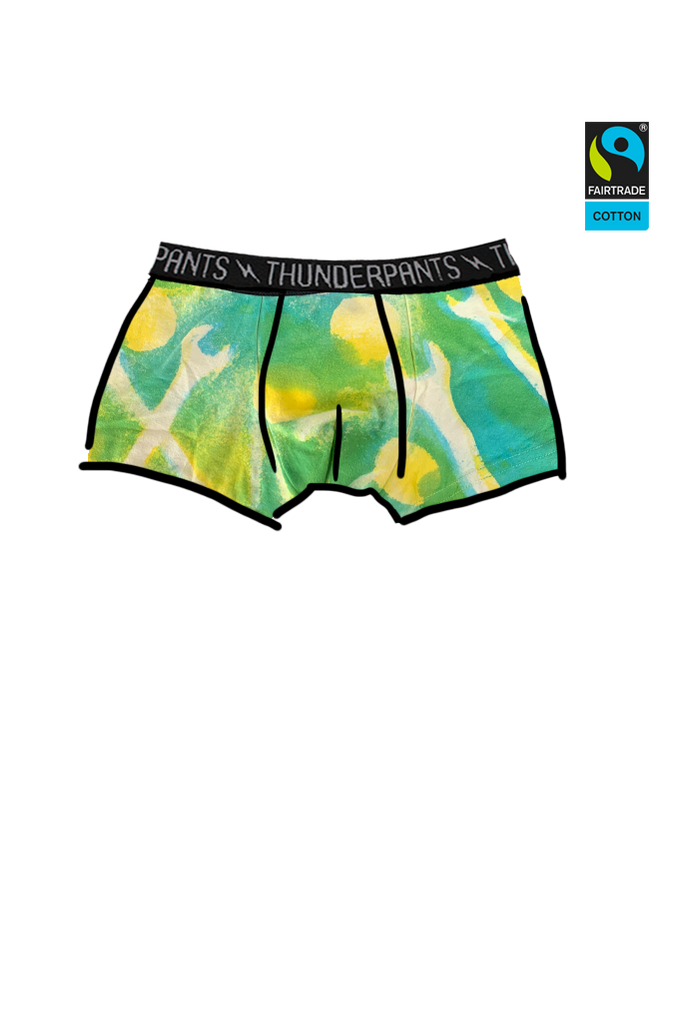 Boys Boxer Spanners Hand Dye - last pair medium