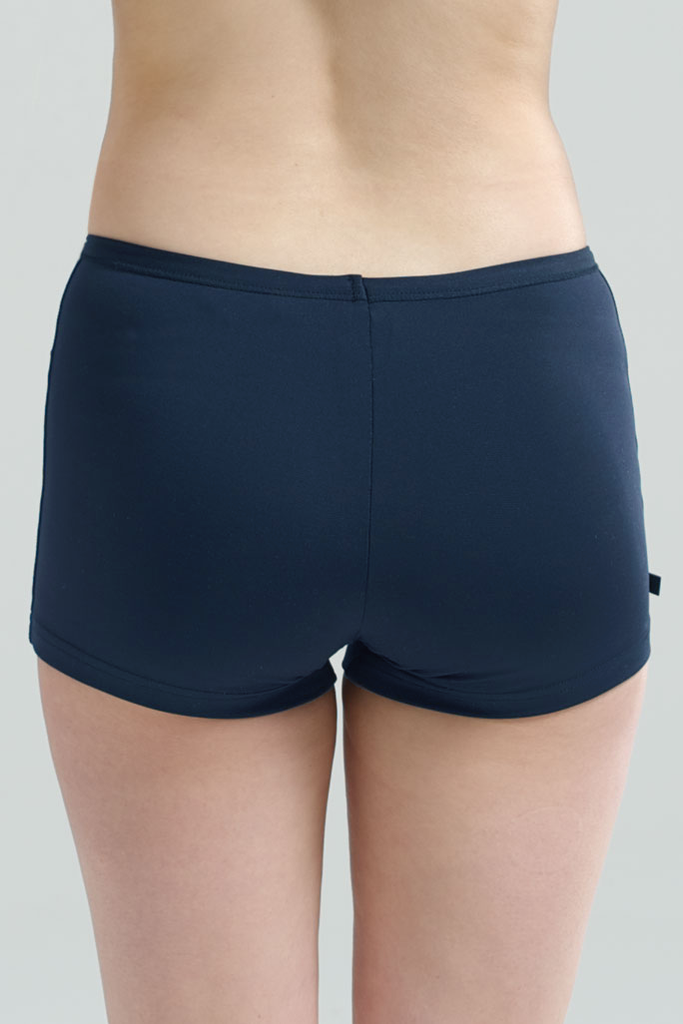 Navy Swimwear Boyleg