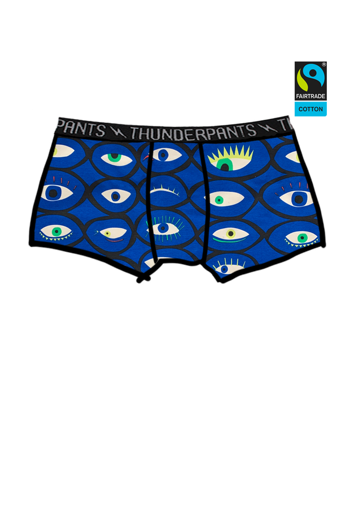 Womens Fitted Boxer Eyes