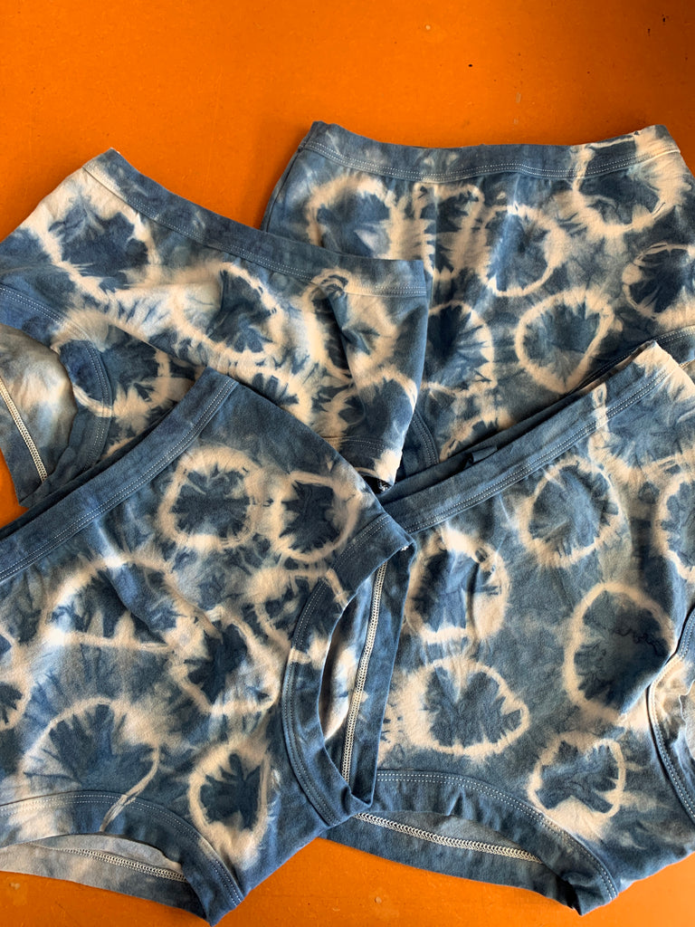 Women's Original Indigo spots - last pair small