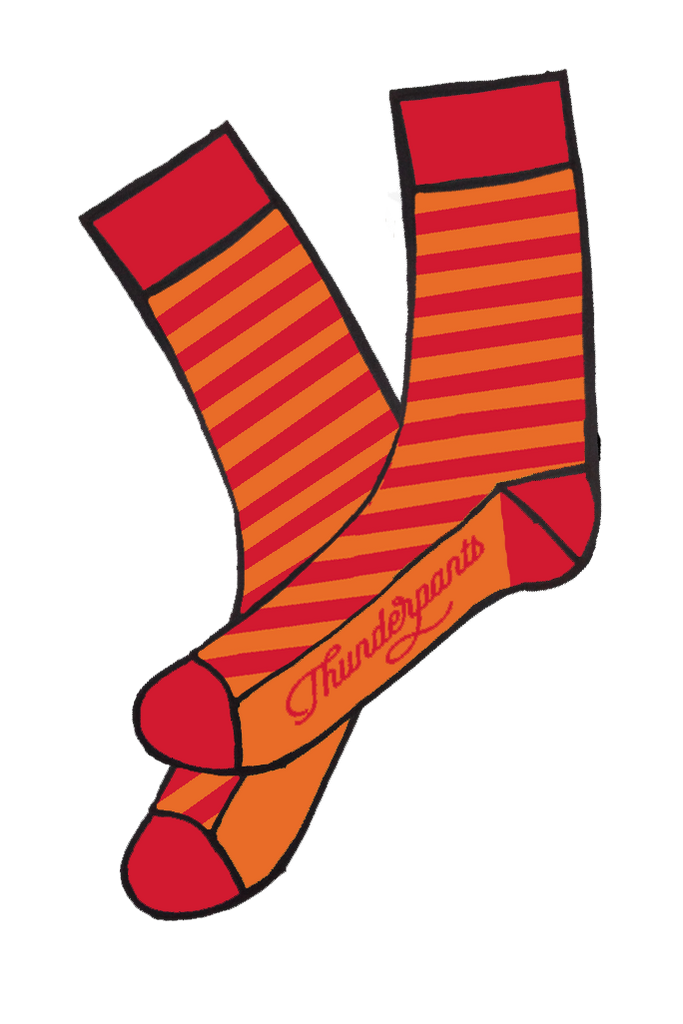 Socks Marmalade Stripe