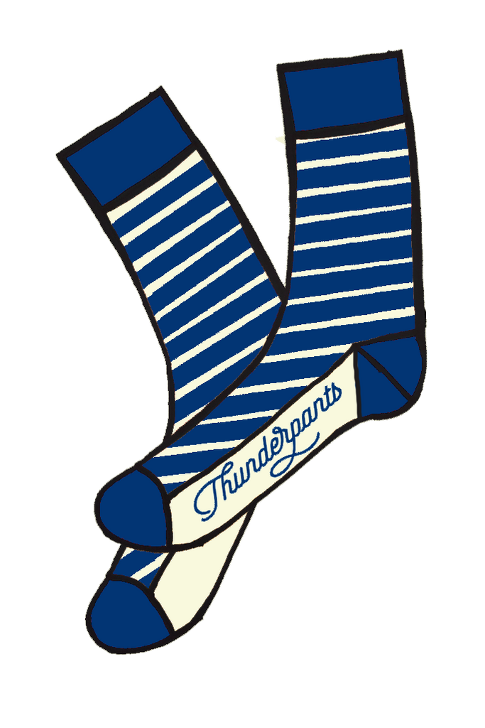 Socks French Navy