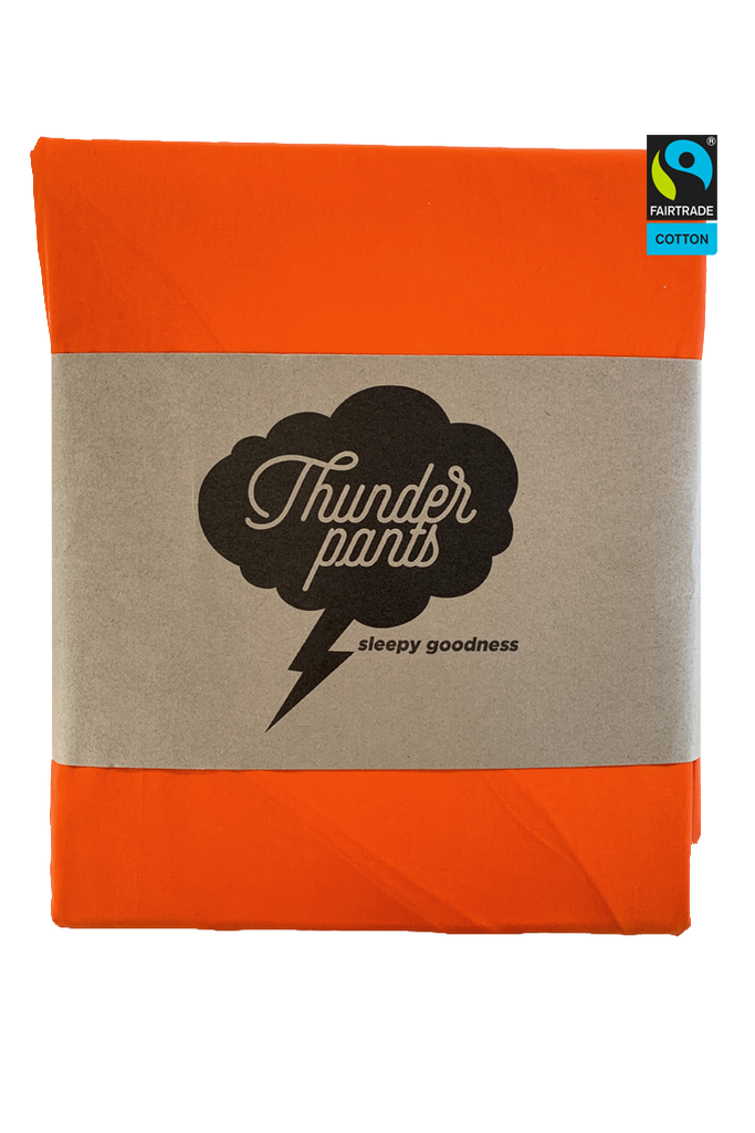 Tangerine King Fitted Sheet