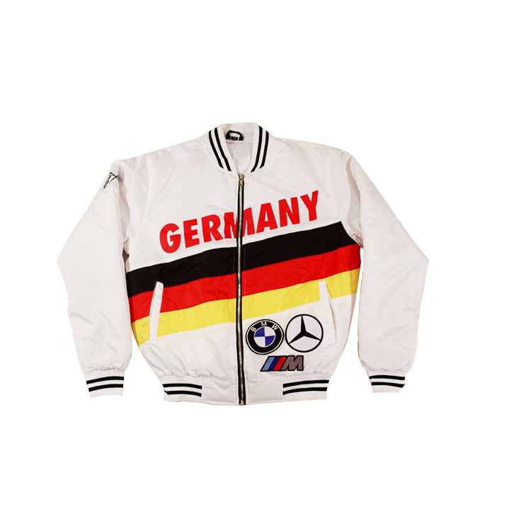 Germany Bomber Jacket (WHITE)
